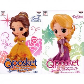 ■Q posket Disney Characters Special Coloring vol.3【入荷済】